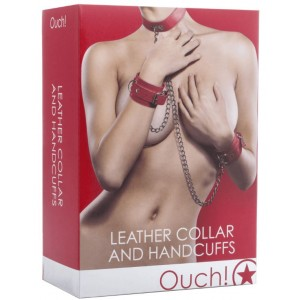 Leather Handcuffs and...