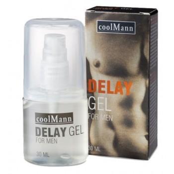 Coolmann Delay Gel - Ritardante - 30ml