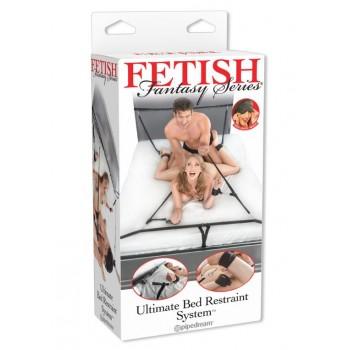 Ultimate Bed Restraint System - Set Sadomaso