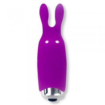 Piccolo vibratore coniglietto Viola - Lastic Pocket Vibe
