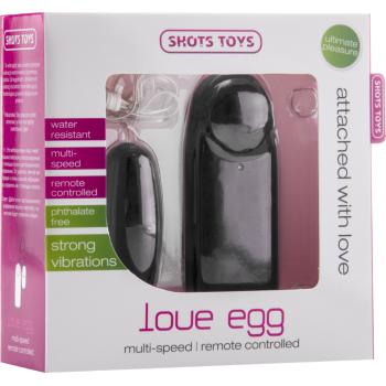 Vibratore Clitoride Love Egg - nero